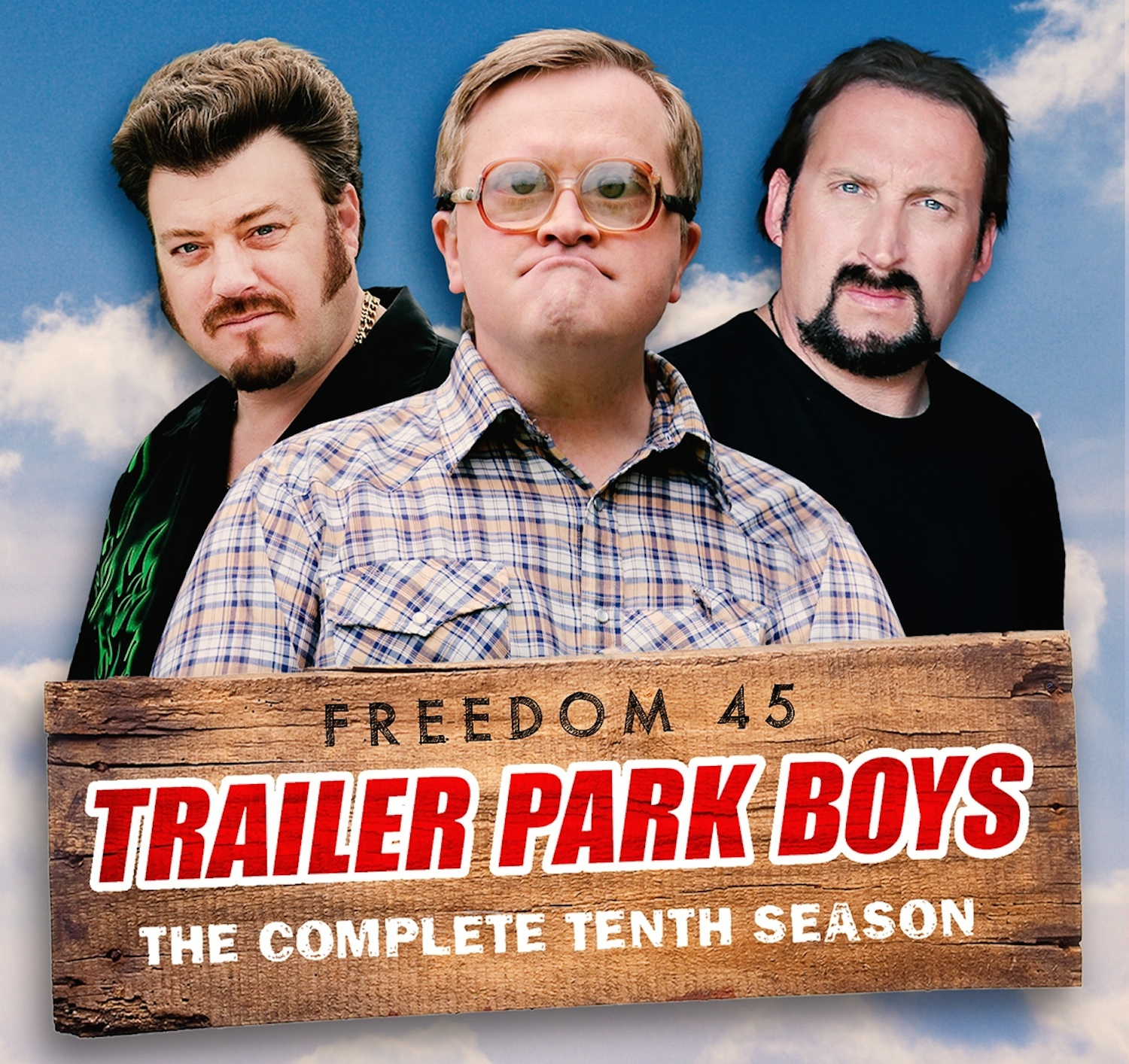 Promotional image for Trailer Park Boys Freedom 45 The Complete Tenth Season
